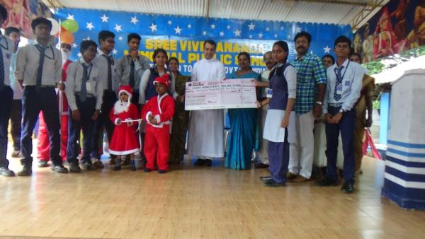 Chennai Flood Relief Fund Donation