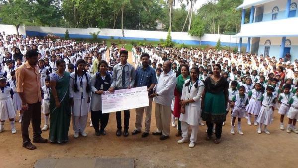 SVMPS Donates Rs.26,000 to Malayala Manorama's Nalla Padam Charitable Trust for Endosulfan victims